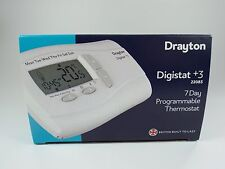 Drayton Digistat + 3 22083 7 Jour Programmable Thermostat