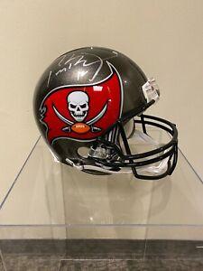 Signed Tom Brady Tampa Bay Buccaneers Helmet