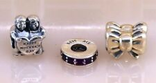 Pandora ALE Bead Charms (3PS) Lot # 15 in Sterling Silver 925
