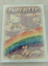 Vintage 2000 Sanrio Hello Kitty Rainbow Fairy notepad rare keroppi badtz maru