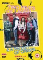 Nuovo Due Pints Of Lager & A Confezione Di Crisps Serie 1 A 6 DVD Regione 2