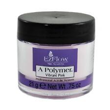 EzFlow Nail Acrylic Powder - Vibrant Pink 0.75oz