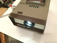 Vintage Hanimex HX 300 Slide Projector / Prop / Display / Retro Lamp