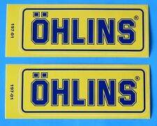 DUCATI 851/SP/888/CORSA/RACING OHLINS SWING ARM  DECALS PAIR EARLY TYPE