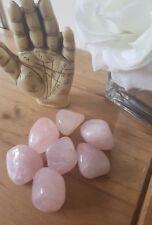 LARGE stone ROSE Crystal Quartz Tumblestones 30-40mm  healing love