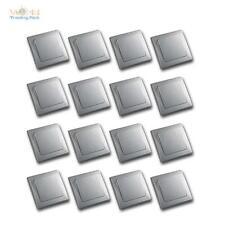 DELPHI 16 pièces Set ECHANGE Interrupteur argent 250V ~10 A Cadre Flush