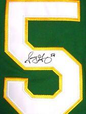 Sonny Gray Signed Autograph Oakland Athletics A's Green Baseball Ball Jersey 96