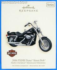 2006 FXDBI Dyna Street Bob Harley-Davidson Motorcycles Milestones #9 Hallmark