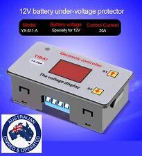 12 Volt Low Voltage Cut off battery 20 Amp on/offUndervoltage Controller fridge