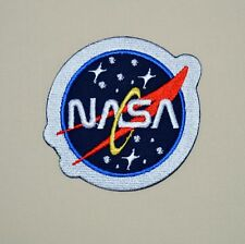 patch NASA , broder et thermocollant 8.5cm