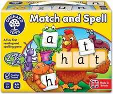 Orchard Toys MATCH & SPELL Educational Game Puzzle BNIP