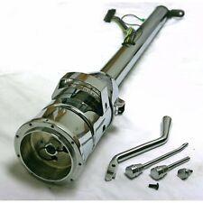 """33"""" Chrome Steel Tilt Column Shift Steering Column + Shift Indicator GM Adapter"""