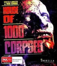 House Of 1000 Corpses NEW B Region Blu Ray