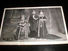 Old Postcard dwarf children actor performers c1900s