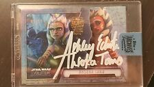 TOPPS ARCHIVES SIGNATURE SERIES STAR WARS AHSOKA TANO ASHLEY ECKSTEIN 06/39 RARE