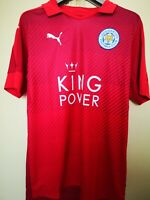 Maglia Calcio Away Football Shirt Leicester 2016/17 Puma Jersey Camiseta