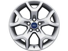 "Single Ford Kuga 17"" Alloy Wheel  - Silver Machined (1754584)"