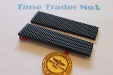 100% Genuine New Breitling Blue Aero Classic Caoutchouc Deployment Strap 22-20mm