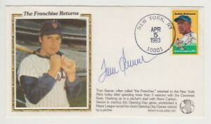 Tom Seaver MB Autographed 4/5/83 First Day Cover