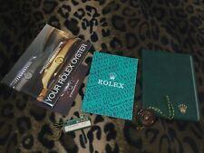 ROLEX VINTAGE SET 1985 SUBMARINER GMT DAYTONA EXPLORER paper holder,booklet,tag
