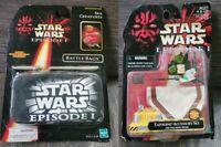 Star Wars Episode I Tattooine Accessory Kit & Sea Creatures Battle Bag MIP 1998