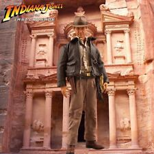 """1/6 Indiana Jones Backdrop 15""""x15"""" - Ideal For Last Crusade Sideshow Hot Toys"""