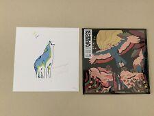 Khruangbin - Mordechai clear vinyl LP SEALED + signed print #831/1000