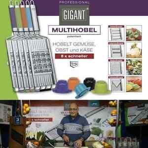 Gigant Multihobel + V-Messer