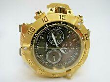 Invicta Men's Subaqua Noma III 19339 Watch Chronograph Olive Green Gold