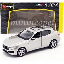 BBURAGO 18-21081 MASERATI LEVANTE SUV 1/24 DIECAST MODEL CAR SILVER