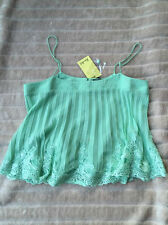 BNWT Bardot Cami Size 12 Mint Green