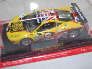 Ferrari 458 Italia GT2 #66 24h Le Mans 2011 IXO 1/43 Scale