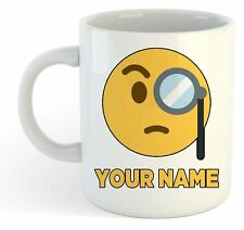 Personalised Face Emoji Mug - Rich 1 - Monicle - Add Your Name
