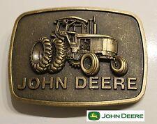 f356e838b05 Raised Graphics ♈ Antique Bronze finish Belt Buckle Farm Country John Deere