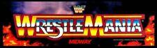 WWF Wrestlemania Arcade Marquee – 26″ x 8″