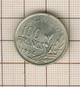 qualité rare pour cette 100 franc cochet 1954 B