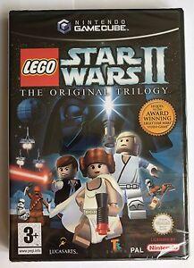 Gamecube LEGO Star Wars II 2 (2007), UK Pal, Brand New & Nintendo Factory Sealed