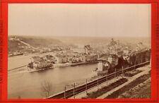 Panorama view Passau  ALBUMEN ca. 1880 Photographer E Wangemann fotografie RARE