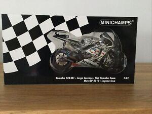 Minichamps Jorge Lorenzo Yamaha Laguna Seca 2010 Ltd Ed 999 Very Rare