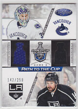 2012-13 Certified Path to the Cup Quarter Finals Dual Jerseys Schneider/Williams
