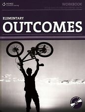 HEINLE / CENGAGE Learning OUTCOMES Elementary WORKBOOK with Key & Audio CD @NEW@