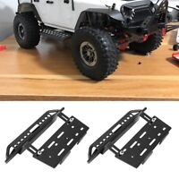 1Pair Metal Side Pedal RC Upgrade Parts for Axial 90046 SCX10 SCX10-ll RC Car