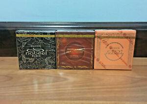 Lot of 3 x (40 g) Bakhoor Nabeel/Nasaem/Black Incense Oud Solid Bar بخور نبيل