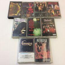 Lot of 9‼ HTF‼ Metal • Motley Crue Metallica Slipknot Black Sabbath • FREE S/H‼