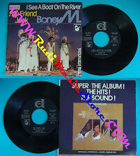 "LP 45 7"" BONEY M I see a boat on the river My friend jack 1981 germany *mc dvd"