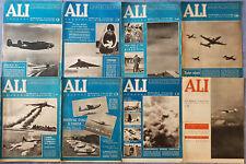 Rivista Ali Aviazione 1954 1956 Lotto di 8 numeri