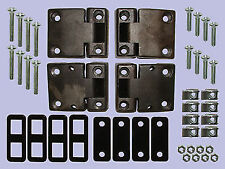 LAND ROVER Defender  pre 1999 FULL FRONT DOOR HINGE KIT - DA1069