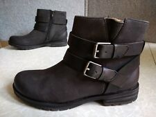 NWT, $90. MSRP, Womens Natural Soul Faux Leather Zipper Bembe Ankle Boots Black