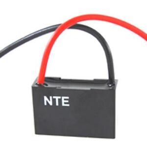 NTE CFC-3.5, 3.5uF @ 125/250V AC, Single Ceiling Fan Capacitor