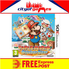 PAPER MARIO STICKER STAR 3DS BRAND NEW & SEALED  In Stock Free Express Post